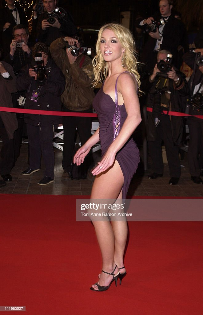 Britney Spears during NRJ Music Awards 2002 - Arrivals at Palais des Festivals in Cannes, France.