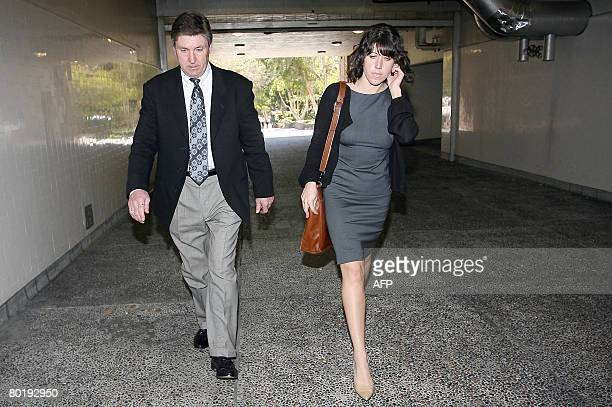 Britney Spears' father Jamie Spears leaves the Los Angeles County Superior courthouse on March 10 2008 The divorce between Spears and Kevin Federline...