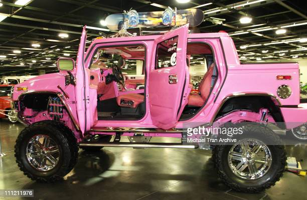 Britney Spears' Hummer H2 during California International Auto Show at Anaheim Convention Center October 5 2005 at Anaheim Convention Center in...