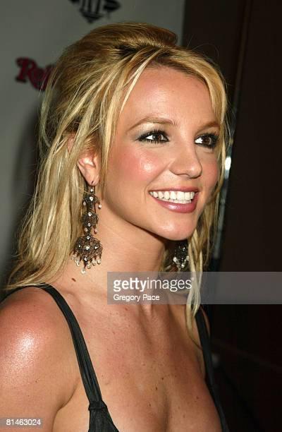 Britney Spears in a Yves Saint Laurent dress