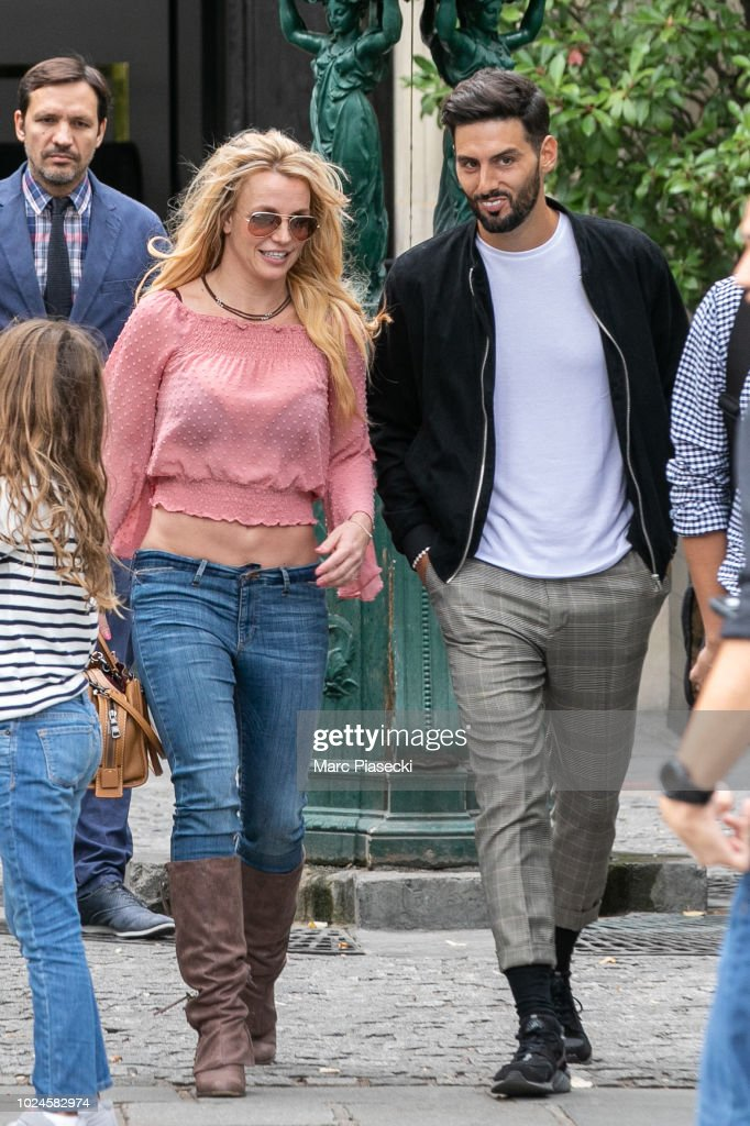 Britney Spears Sighting In Paris - August 27, 2018 : News Photo