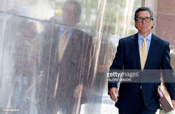 Britney Spears' new layer Mathew S. Rosengart leaves the Los Angeles County Courthouse after a scheduled hearing in the Britney Spears guardianship...