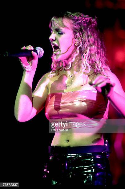 Britney Spears on 8/3/99 in Chicago Il