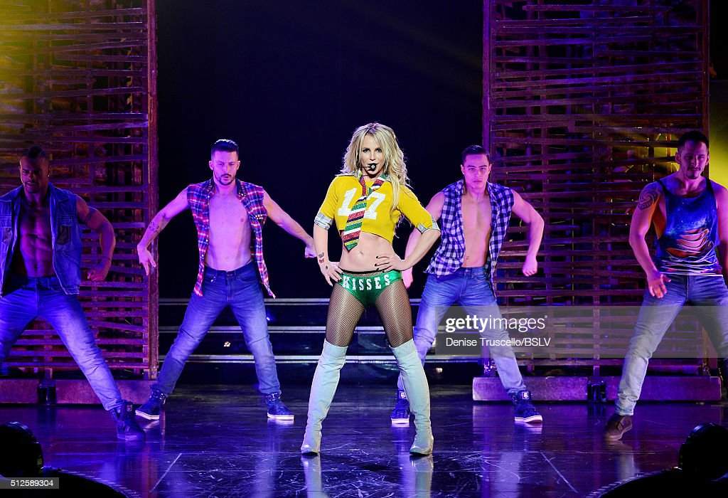 Britney Spears: Piece of Me Remixed. Reimagined. Still iconic. At Planet Hollywood Hotel & Casino : News Photo