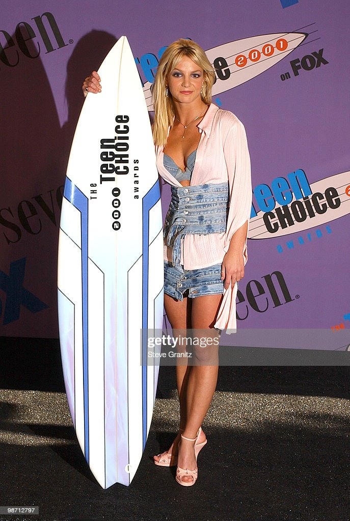 The 2001 Teen Choice Awards - Press Room : News Photo