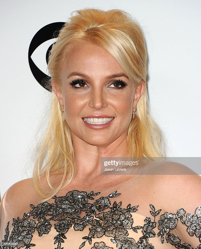 Britney Spears poses in the press room at the 40th annual People's Choice Awards at Nokia Theatre L.A. Live on January 8, 2014 in Los Angeles, California.