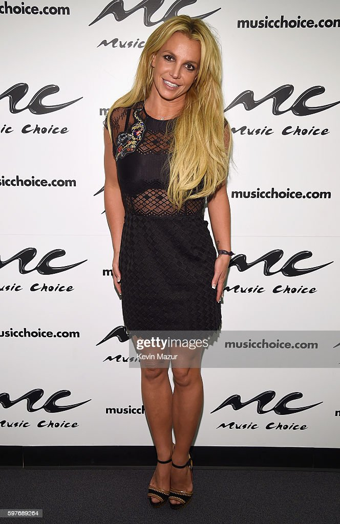 Britney Spears Visits Music Choice