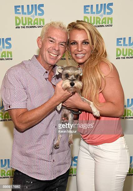 Britney Spears visits The Elvis Duran Z100 Morning Show at Z100 Studio on August 26 2016 in New York City
