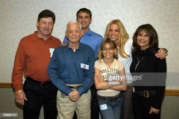 Britney Spears's family Jamie Spears Bryan Spears grandfather June JamieLynn Spears Britney Spears and Lynne Spears