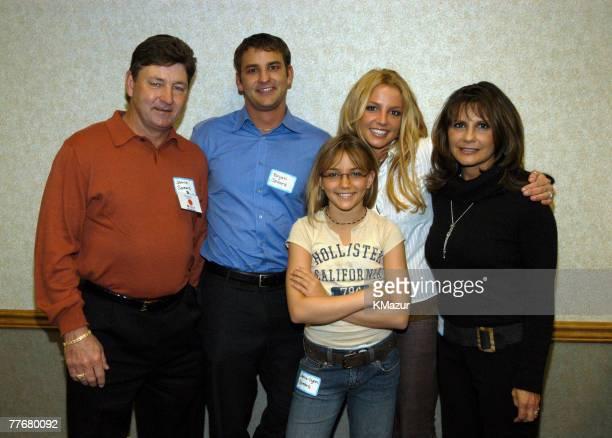 Britney Spears's family Jamie Spears Bryan Spears JamieLynn Spears Britney Spears and Lynne Spears