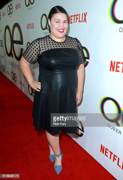 Britney Young attends Netflix's Queer Eye premiere screening and after party on February 7 2018 in West Hollywood California