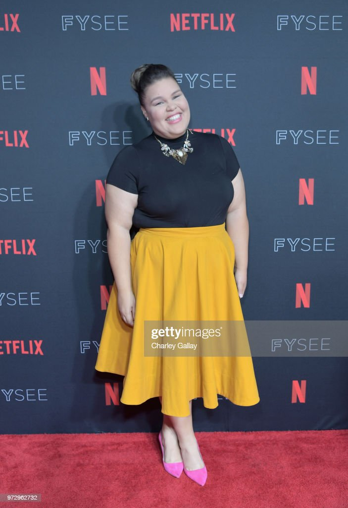 Britney Young attends Strong Black Lead party during Netflix FYSEE at Raleigh Studios on June 12, 2018 in Los Angeles, California.