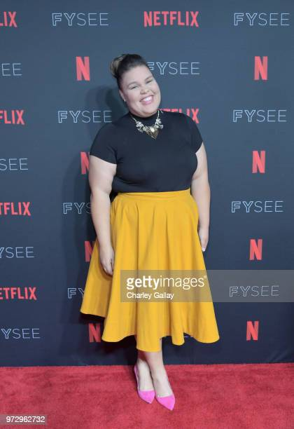Britney Young attends Strong Black Lead party during Netflix FYSEE at Raleigh Studios on June 12 2018 in Los Angeles California