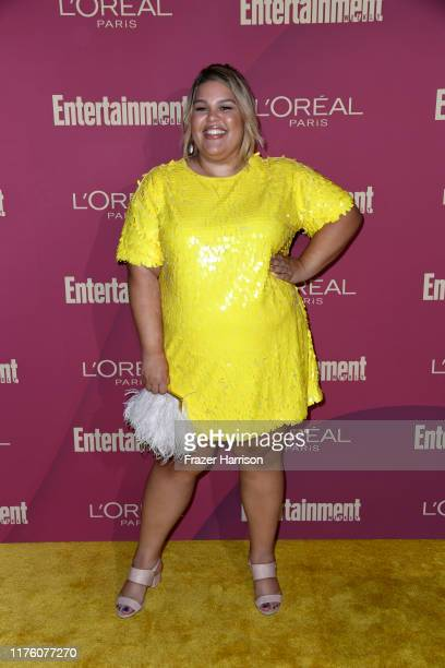 Britney Young attends the 2019 Entertainment Weekly Pre-Emmy Party at Sunset Tower on September 20, 2019 in Los Angeles, California.