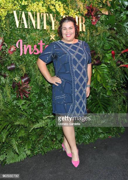 Britney Young attends Vanity Fair x Instagram Celebrate the New Class of Entertainers at Mel's Diner on Golden Globes Weekend at Mel's Diner on...