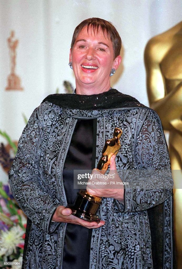 Briton Lindy Hemming with her Oscar for Best Costume Design which she won for her work  sc 1 st  Getty Images & Oscars Lindy Hemming Pictures | Getty Images
