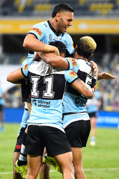 AUS: NRL Rd 4 - Cowboys v Sharks