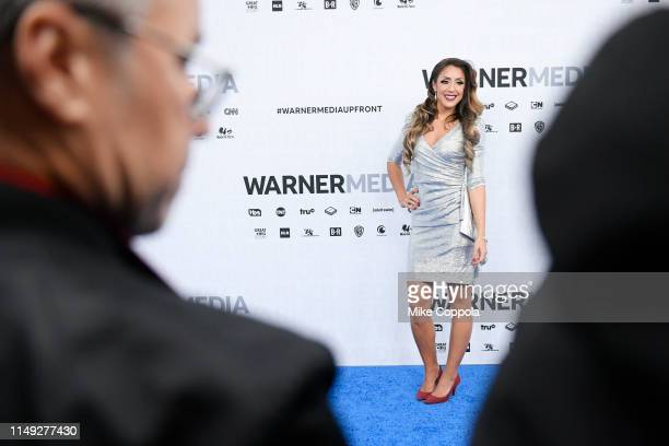 Britt Baker of TNT's All Elite Wrestling attends the WarnerMedia Upfront 2019 arrivals on the red carpet at The Theater at Madison Square Garden on...