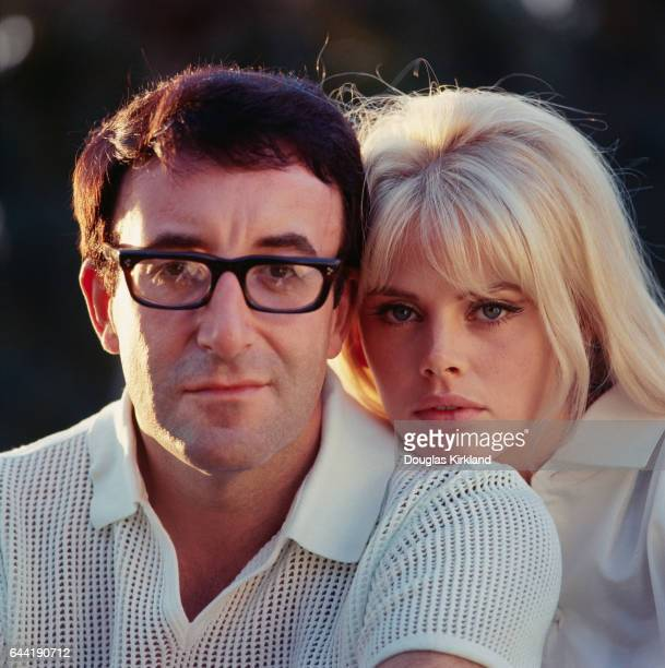 Britt Ekland and Peter Sellers.