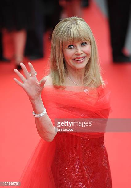 Britt Ekland attends the opening film of The Edinburgh Film Festival The Illusionist on June 16 2010 in Edinburgh Scotland