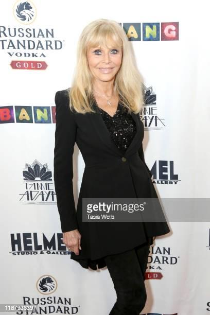 Britt Ekland attends Val Kilmer's HelMel Studios Presents GLAM Art Exhibition at HelMel Studios on November 15 2019 in Los Angeles California