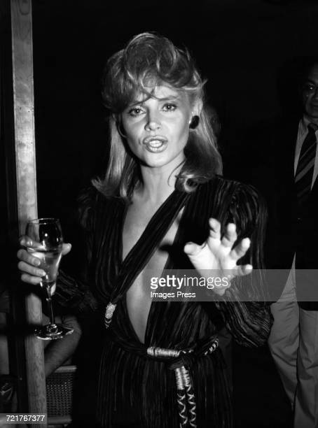 Britt Ekland circa 1981 in New York City