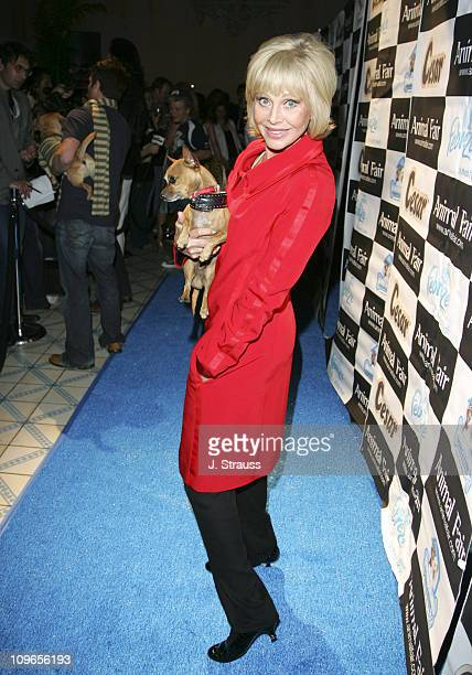 Britt Ekland during 7th Annual 'Paws for Style' Celebrity Pet Fashion Benefiting Animal Medical Center at The Avalon Theater in Los Angeles...