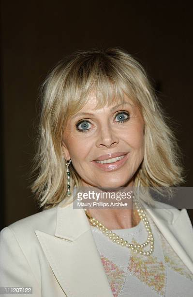 Britt Ekland during Junior Blind and The American Foundation for The Blind Present an International Symposium - Reception at Beverly Hilton Hotel in...