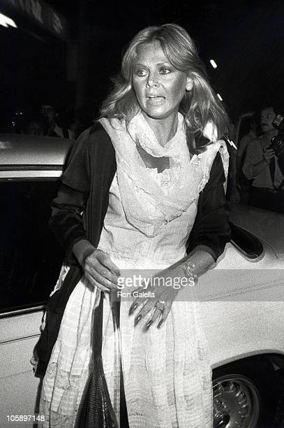 Britt Ekland during Premiere of 'She Dances Alone' April 20 1982 at Continental Theater in Hollywood California United States