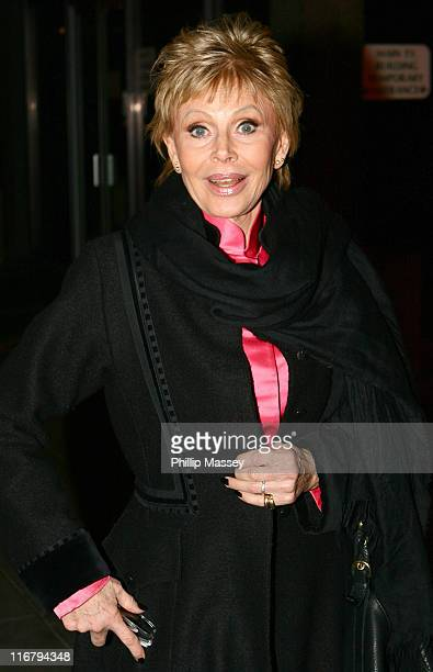 Britt Ekland during 'The Late Late Show' January 12 2007 at RTE Studios in Dublin Ireland