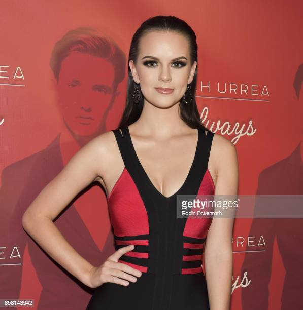 Britt Flatmo attends Noah Urrea's 16th Birthday with EP Release Party at Avalon Hollywood on March 26 2017 in Los Angeles California