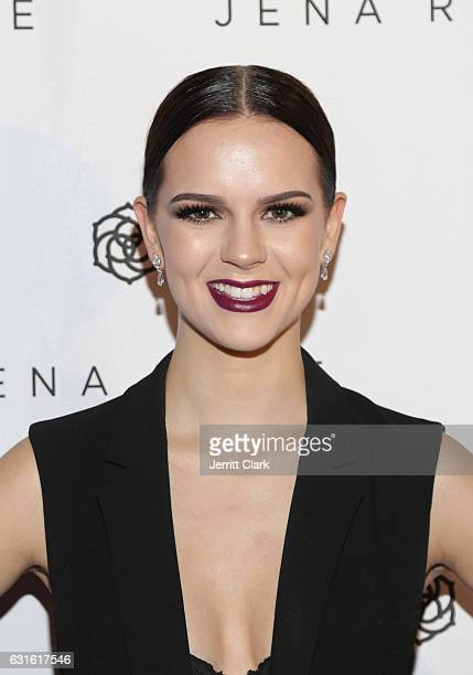 Britt Flatmo attends Singer Jena Rose's Birthday Celebration At Bardot on January 12 2017 in Hollywood California