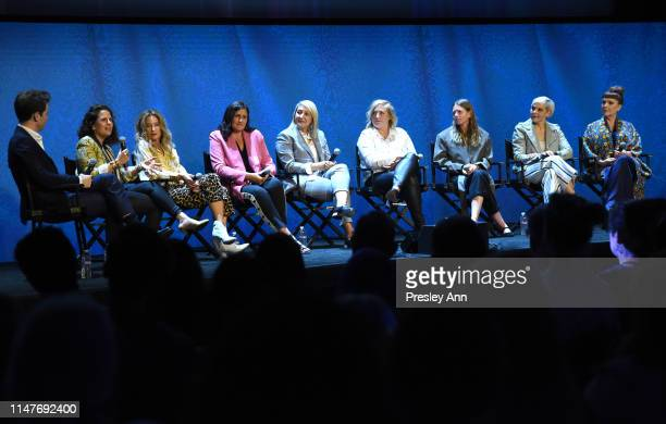 Britt Hennemuth Beth Morgan Allyson Fanger Lynn Falconer Kemal Harris Jessica Wegner Megan Gray Jennifer Rogien and Cynthia Summers attend the...