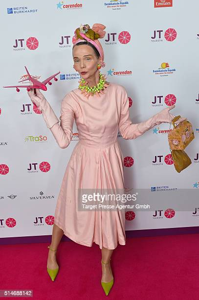 Britt Kanja attends the JT Touristik Celebrates ITB Party at Soho House on March 10 2016 in Berlin Germany
