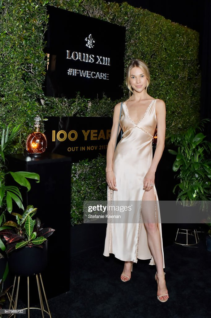 Britt Maren attends LOUIS XIII Cognac Presents '100 Years' - The Song We'll Only Hear #IfWeCare - by Pharrell Williams at Goya Studios on April 17, 2018 in Los Angeles, California.