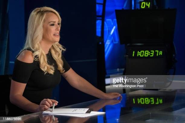 Britt McHenry a former ESPN reporter is making the transition to news on Fox and has a new show starting in October She visits the Fox news set on...