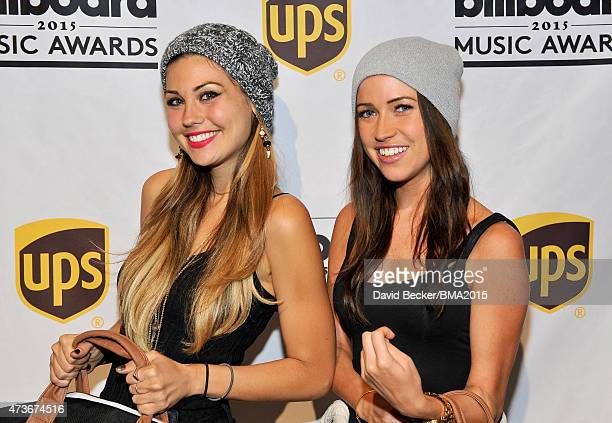 Britt Nilsson and Kaitlyn Bristowe attend the UPS Gifting Lounge during the 2015 Billboard Music Awards at MGM Grand Garden Arena on May 16, 2015 in...