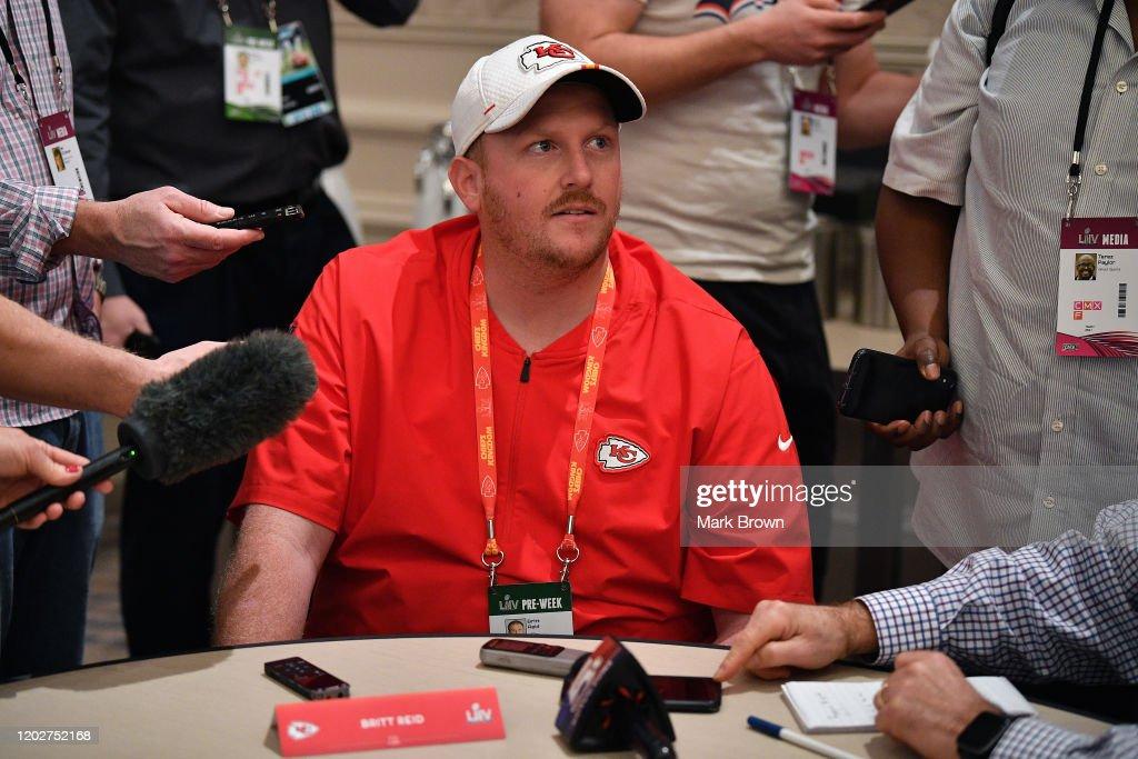 Kansas City Chiefs Media Availability : News Photo