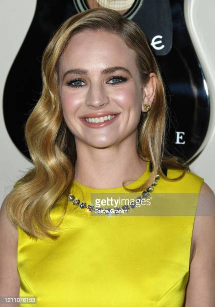 """Britt Robertson arrives at the Premiere Of Lionsgate's """"I Still Believe"""" at ArcLight Hollywood on March 07, 2020 in Hollywood, California."""