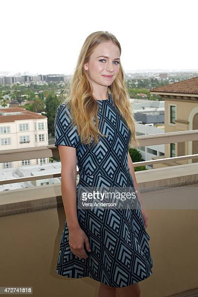 Britt Robertson at the 'Tomorrowland' Press Conference at the Montage Hotel on May 8 2015 in Beverly Hills California
