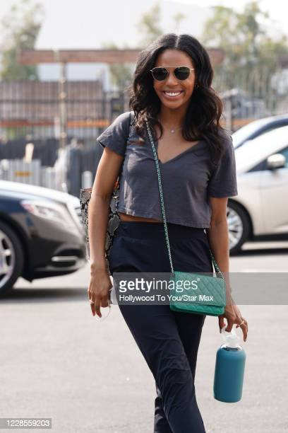 Britt Stewart is seen on September 16 2020 in Los Angeles California
