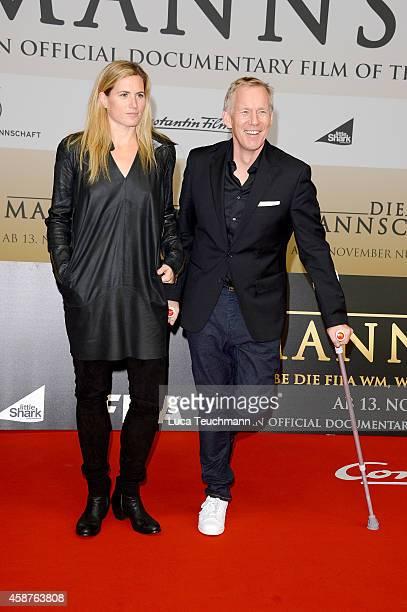 Britta BeckerKerner and Johannes B Kerner attend 'Die Mannschaft' Premiere In Berlin on November 10 2014 in Berlin Germany