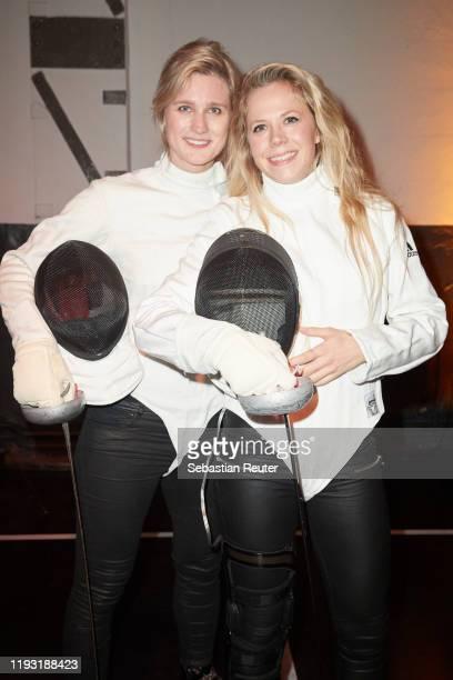 "Britta Heidemann and Julia Dorny attend the Daimler Salon ""Be a Mover"" on December 10, 2019 in Berlin, Germany."