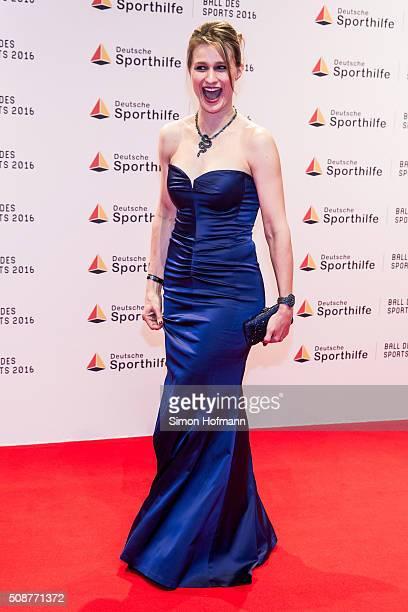 Britta Heidemann attends German Sports Gala 'Ball des Sports 2016' on February 6 2016 in Wiesbaden Germany