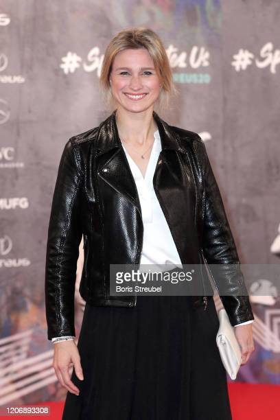 Britta Heidemann attends the 2020 Laureus World Sports Awards at Verti Music Hall on February 17, 2020 in Berlin, Germany.