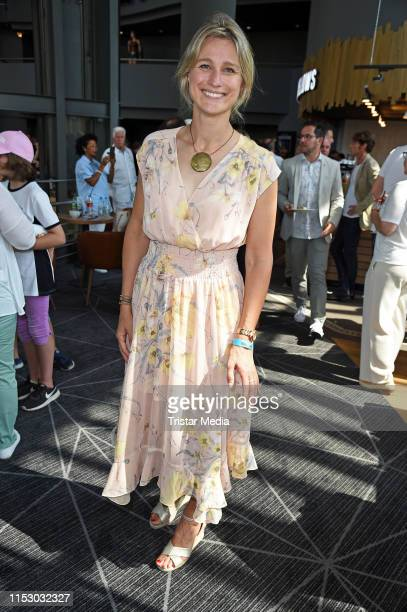 "Britta Heidemann attends the ""Kroos"" world premiere on June 30, 2019 in Cologne, Germany."