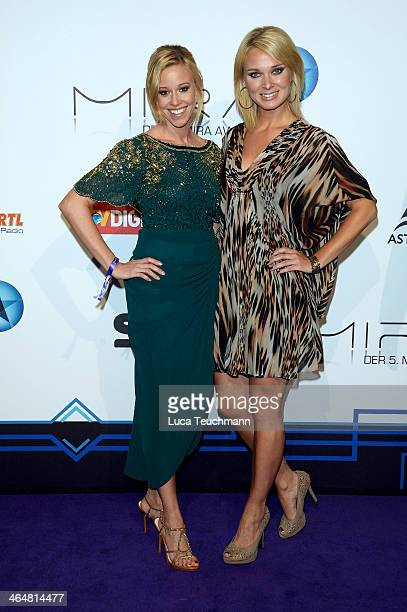 Britta Hofmann and Silke Beikert attends the Mira Award 2014 at Station on January 23 2014 in Berlin Germany