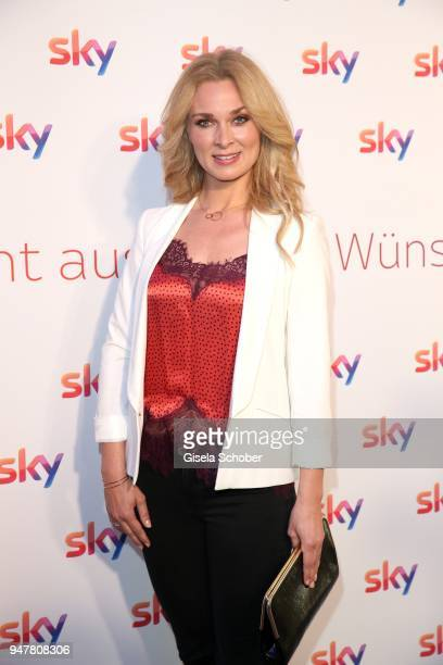Britta Hofmann during the launch event for 'Das neue Sky' on April 17 2018 in Munich Germany