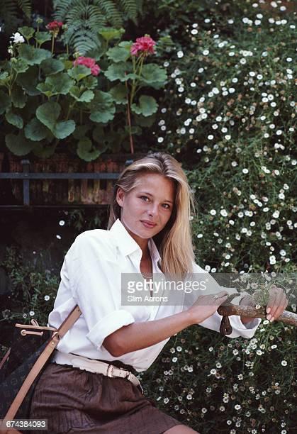 Britta Mese in Portofino Italy 1985