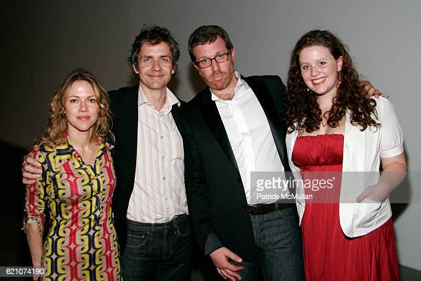 Britta Phillips Dean Wareham Marc Glimcher and Isabelle Glimcher attend Opening of ZHANG HUAN Blessings At Pace Wildenstein and After Party at Pace...